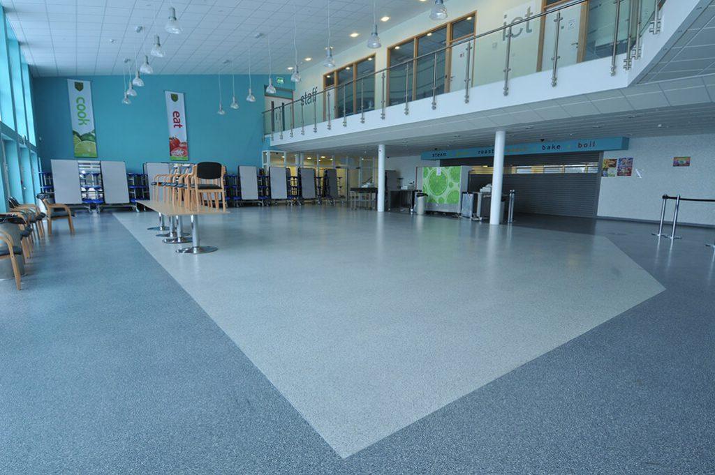 School flooring for Arthur Mellows - Reception